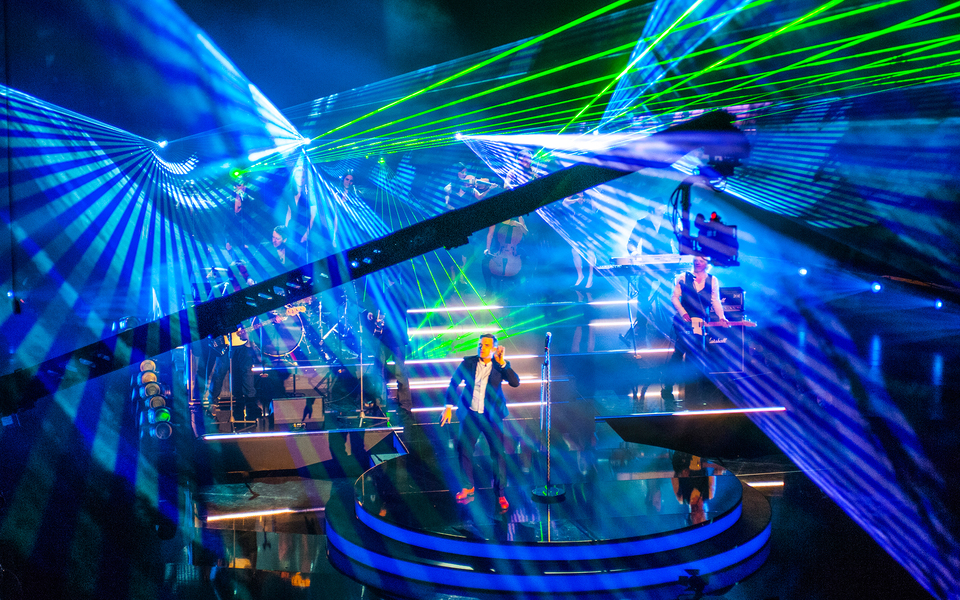 Indoor Lasershow – Robbie Williams