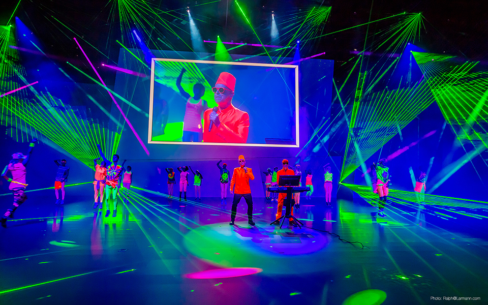 Indoor Lasershow – VW Group Night